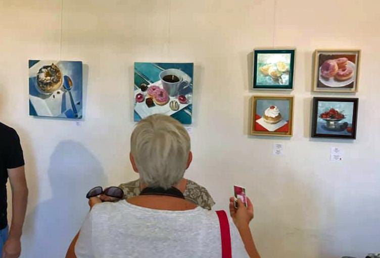 Exhibitions - SARAH SPENCE ARTWORK
